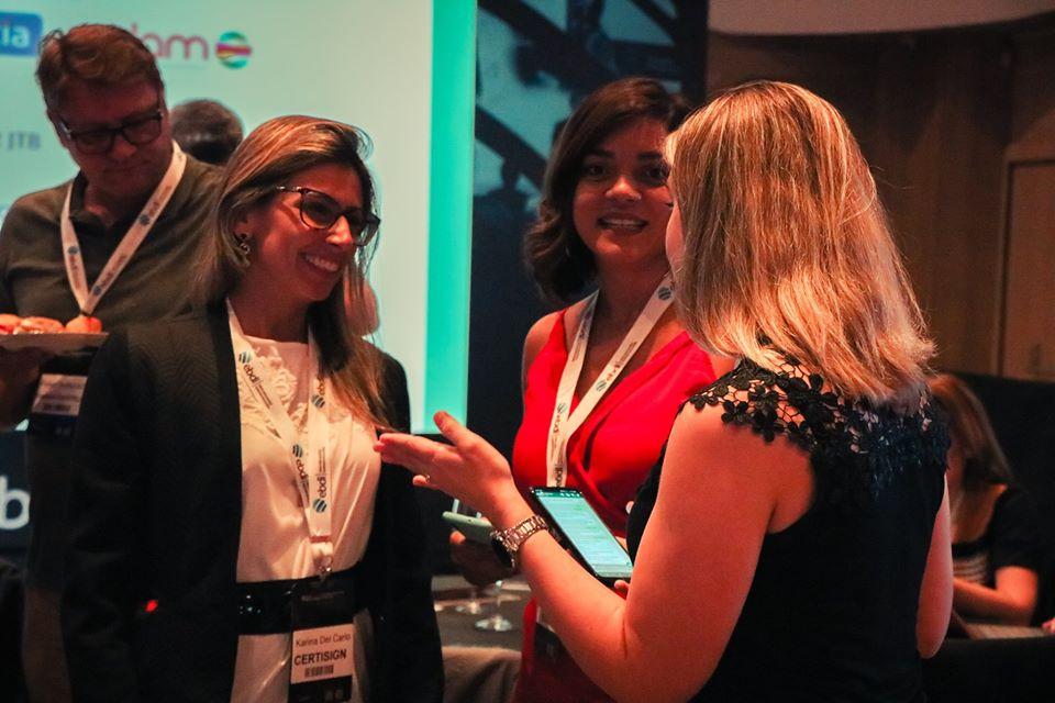 executivas no evento corporativo shared services starters